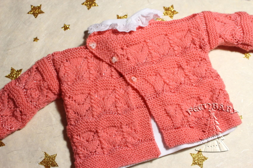 christmas in lace knitting Lachs2